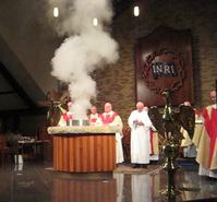 Incensation on the Altar
