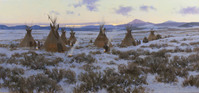 Winter Encampment   20 X 44